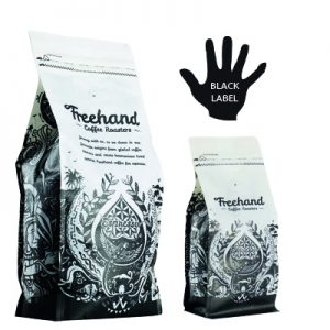 Freehand Black Label Hand Roasted coffee 1kg and 250g