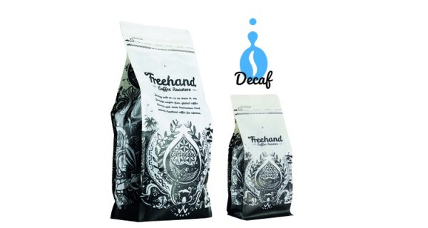 Freehand Decaf Hand Roasted coffee 1kg and 250g