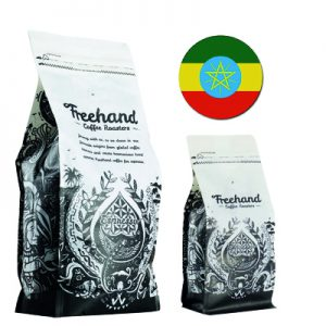 Freehand Hand Ethiopian Single Origin roasted coffee 1kg and 250g