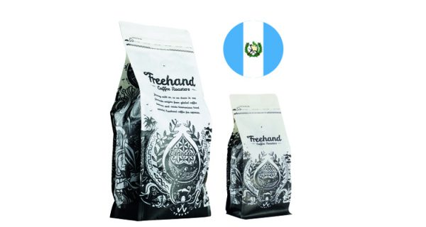 Freehand Hand Guatemalan roasted coffee 1kg and 250g